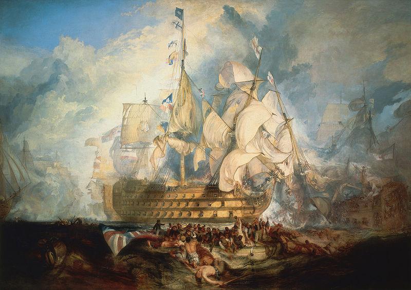 800px-Turner,_The_Battle_of_Trafalgar_(1822)