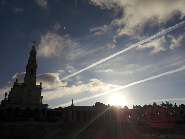 포르투갈의 가톨릭 성지, 파티마(Fatima)의 성당.