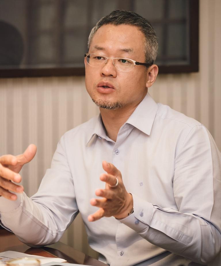 민영삼 더디엔에이(주) 대표